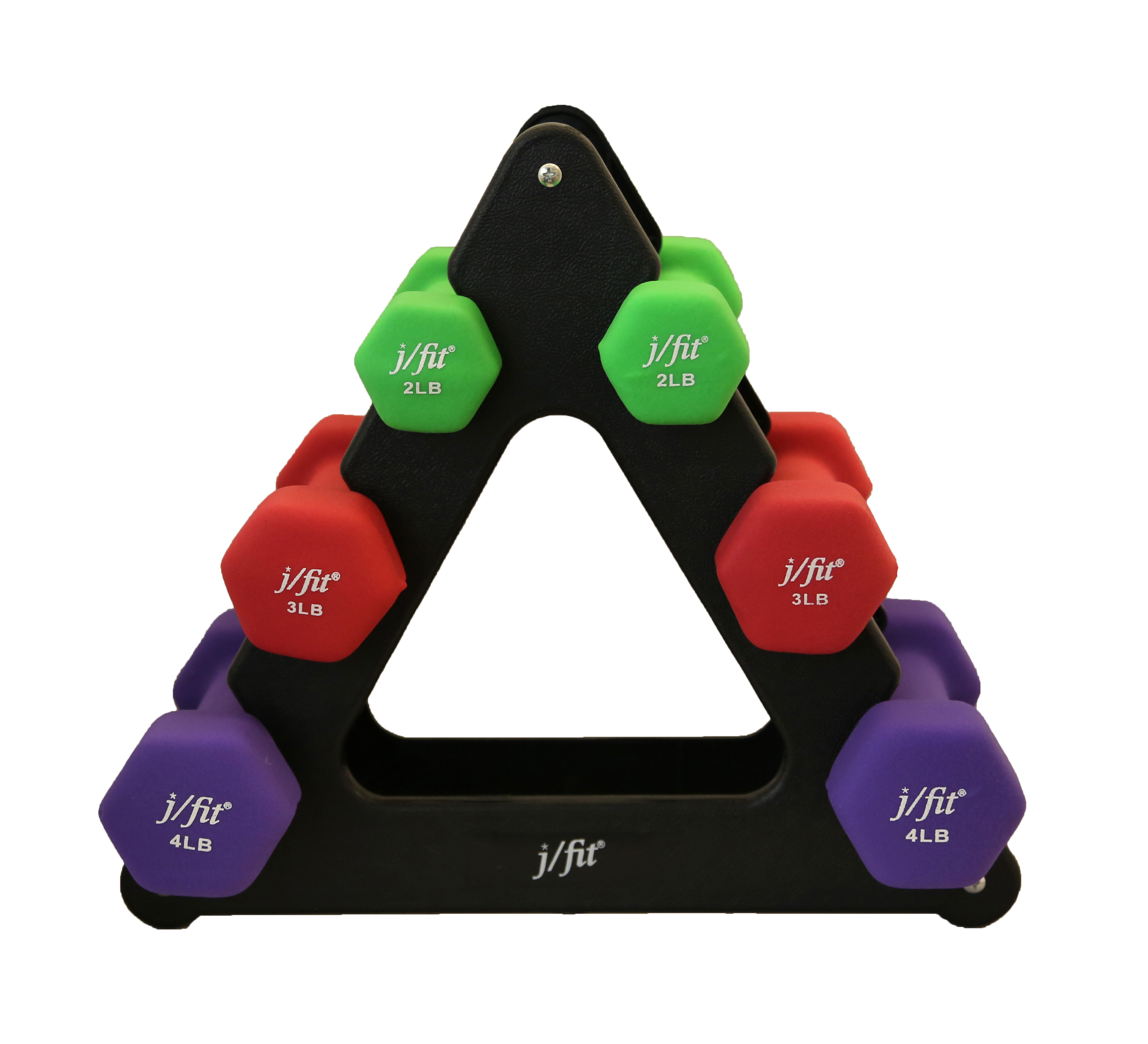 18 lb dumbbell set with stand