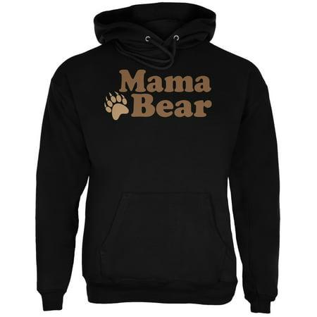 Mothers Day - Mama Bear Black Adult - Mom Adult Sweatshirt