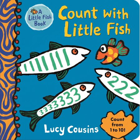 Counting Fish (Count With Little Fish (Board Book) )
