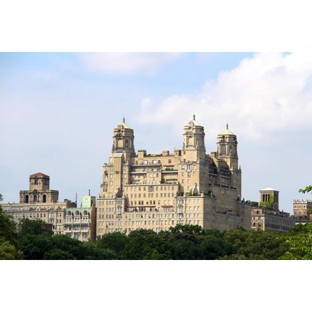 Canvas Print Old Building Central Park Central Park New York NYC Stretched Canvas 10 x 14 - Central Bar Nyc Halloween