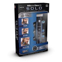 MicroTouch Solo - All-in-one Rechargeable Shaver, As Seen on TV