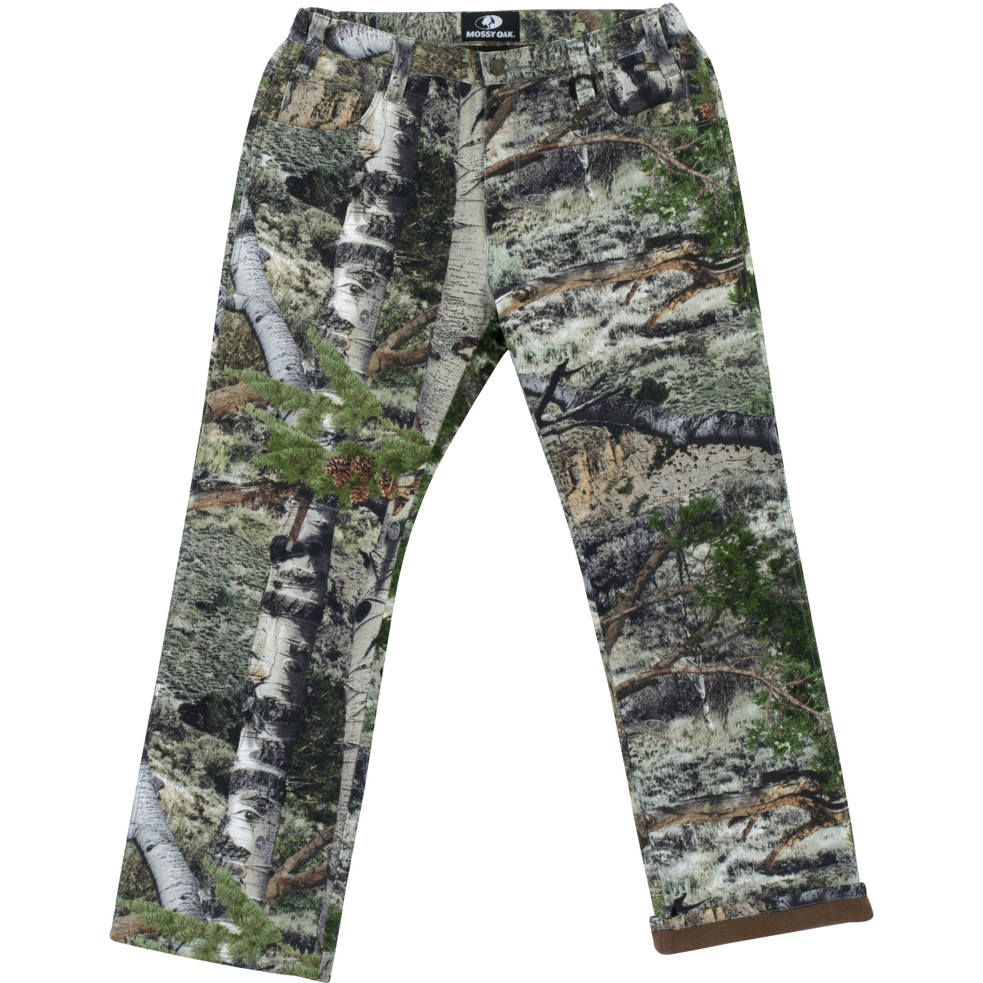 Mossy Oak Men's 5-Pocket Lined Pants, Available in Multiple Patterns
