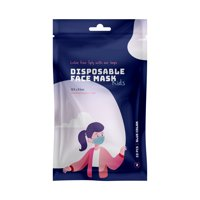 Disposable 3-Ply Face Mask for Kids 3-7 Years, 10 ct