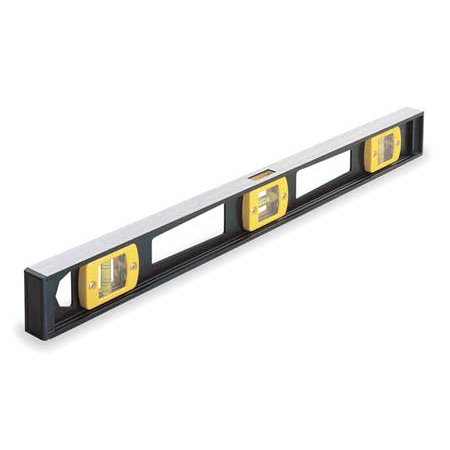 Johnson I-Beam Level, Black, 3748