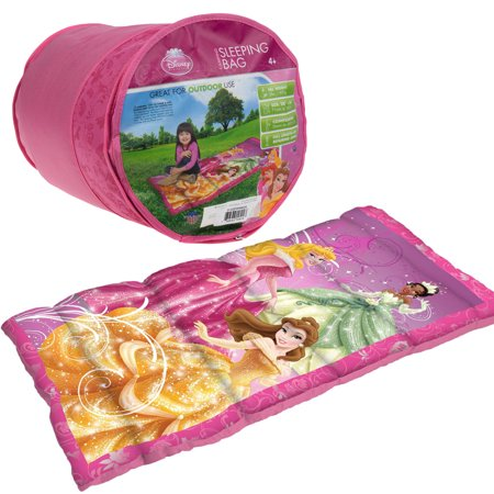 Disney Kids Camping Sleeping Bags Warm Weather Princess Cars Boys S Youth