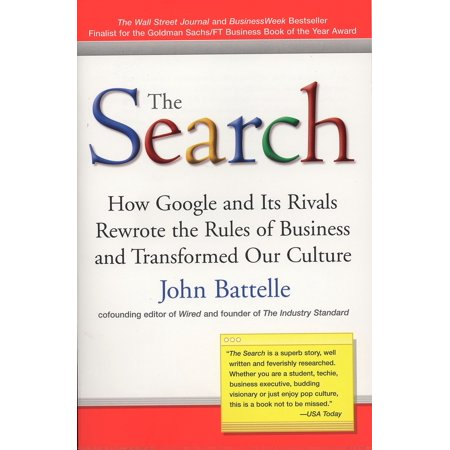 The Search  How Google And Its Rivals Rewrote The Rules Of Business And Transformed Our Culture