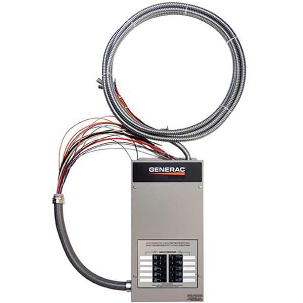 Automatic Transfer Switch,50A,Gray GENERAC RTG10EZA1