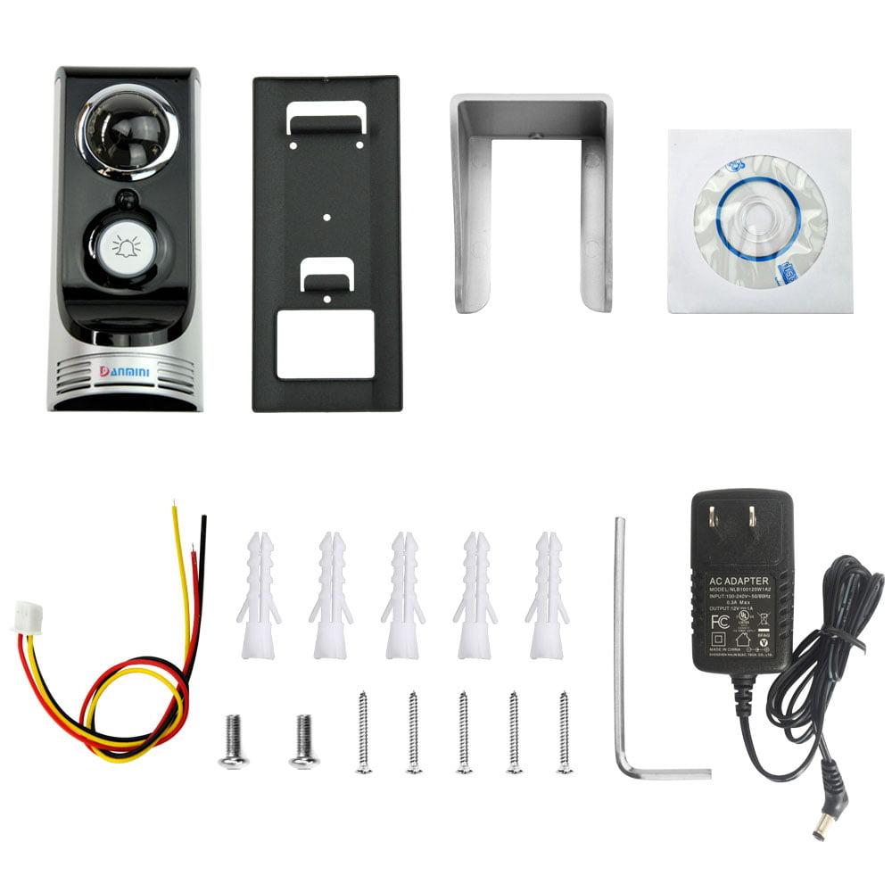 Ktaxon Wireless WiFi Remote Video HD Camera Smart Door Ph...