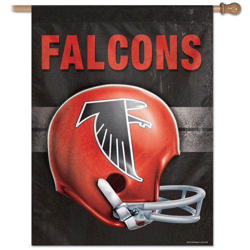 Wincraft, Inc. NFL Helmet Banner / Vertical Flag - Atlanta Falcons