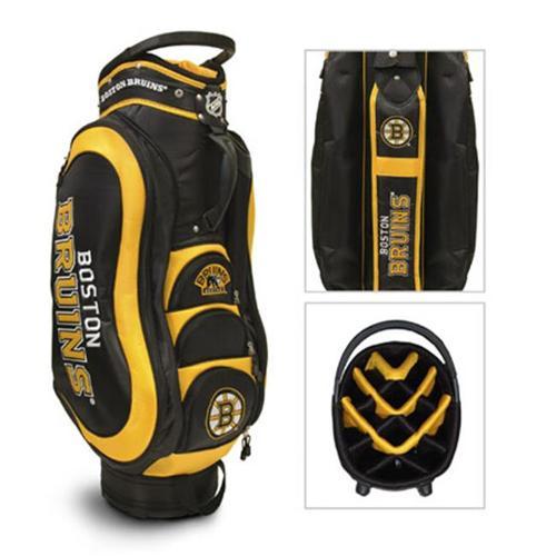 Team Golf 13135 Boston Bruins Medalist Cart Bag