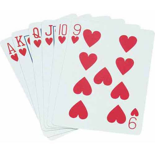 Standard Playing Cards, Poker