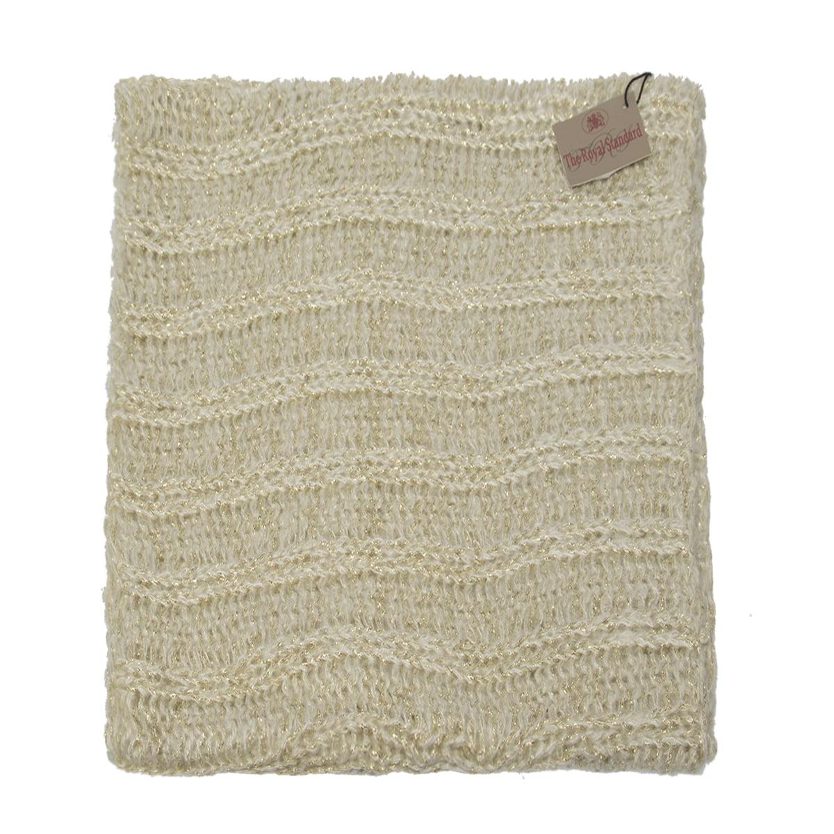 16bf4b56786b2 The Royal Standard - The Royal Standard Infinity Scarf Cute Winter Scarf  For Women Warm Lightweight Wrap Metallic Loose Knit - Walmart.com