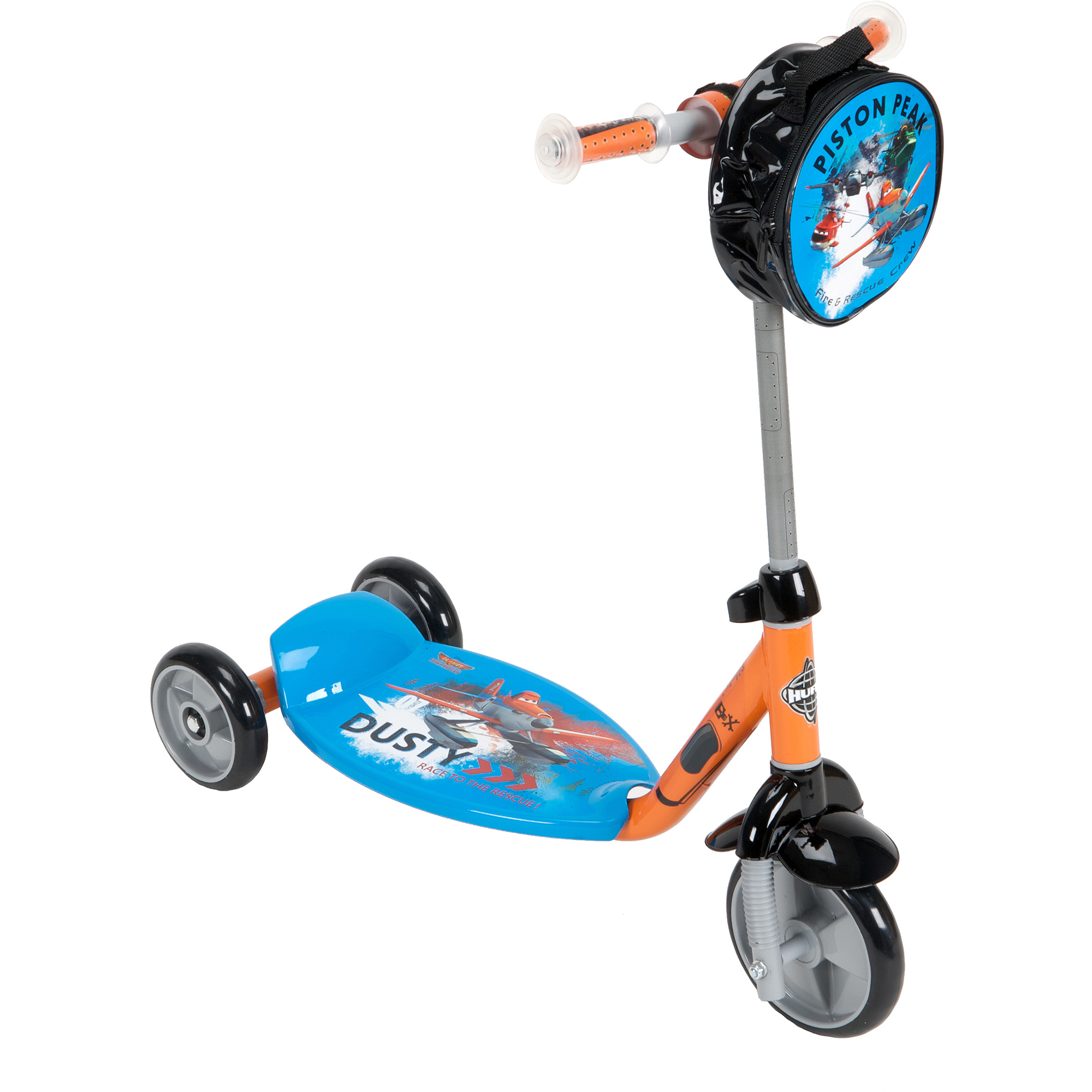Huffy Disney Planes Fire and Rescue 3-Wheel Preschool Scooter