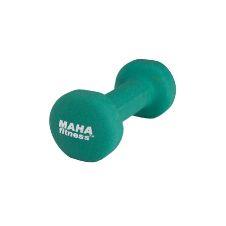 Maha Fitness Dumbbell for Strength and Toning Exercises- 3 lbs.