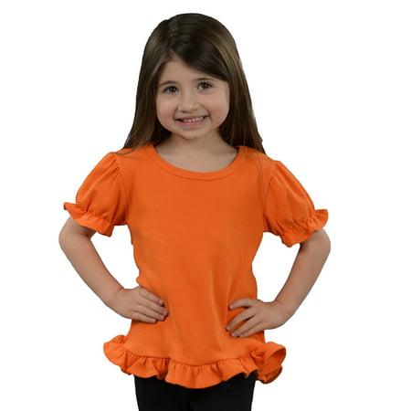 MONAG Toddler Short Sleeve Ruffle Tee