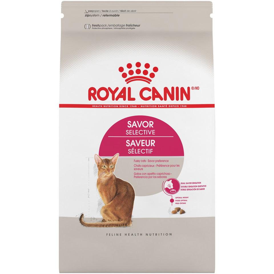 Royal Canin Feline Health Nutrition Savor Selective Dry Cat Food, 6 lb