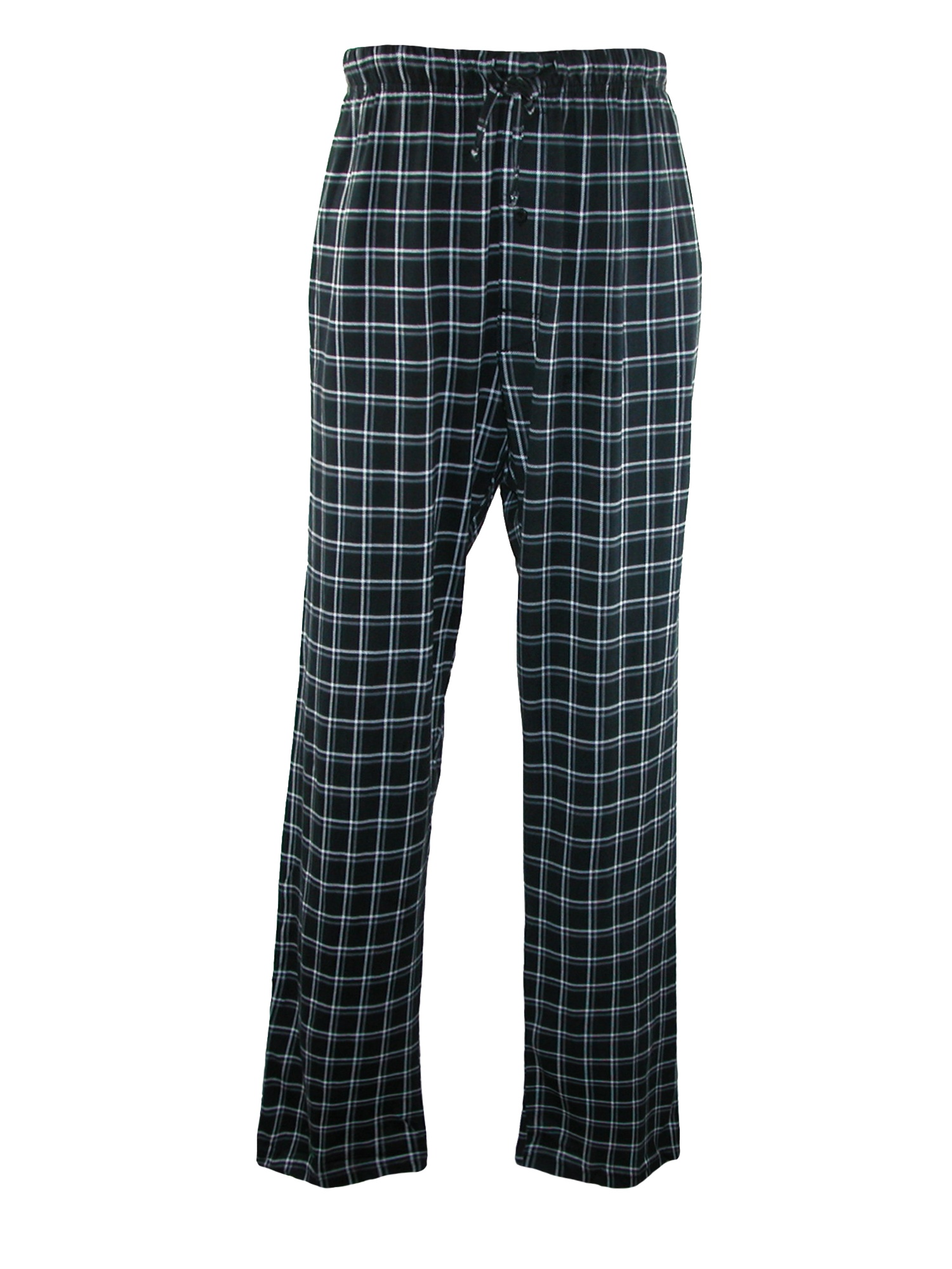 Men's Big & Tall Cotton ComfortSoft Printed Knit Pants,  Midnight