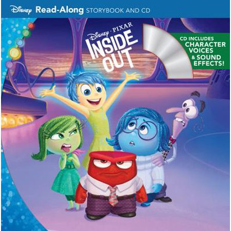 Inside Out Read-Along Storybook and CD - Halloween Read Along Stories