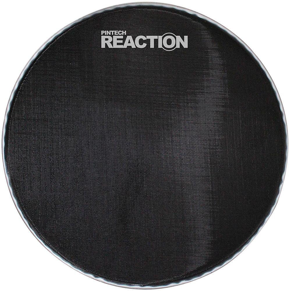 Pintech Reaction Series Mesh Bass Drum Head 22 in. Black by Pintech