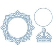 "Marianne Design Creatables Dies-Petra's Circle & Crown, To 4.75"""