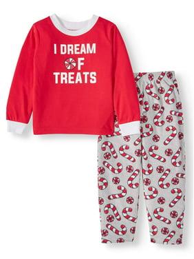 Matching Family Pajamas Toddler Boy or Girl Unisex 2-Piece Candy Sleep Set