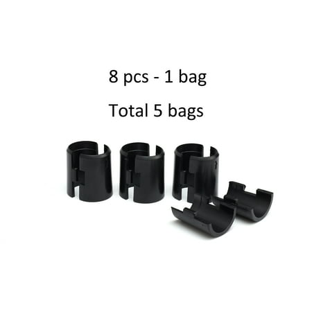 HSS Wire Shelf Lock Clips, Fits 1