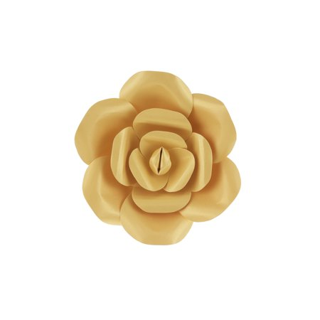 Mega Crafts - 8'' Handmade Paper Flower in Gold | For Home Décor, Wedding Bouquets & Receptions, Event Flower Planning, Table Centerpieces, Backdrop Wall Decoration, Garlands & Parties](Wedding Reception Decoration)