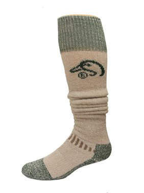 98bb941edd96 Product Image Ducks Unlimited Wool Blend Wader Socks, 1 Pair, Tan/Green,  Large,