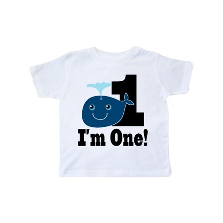1st Birthday Boy Whale One Year Old Toddler T-Shirt](Presents For 1 Year Old Boy)