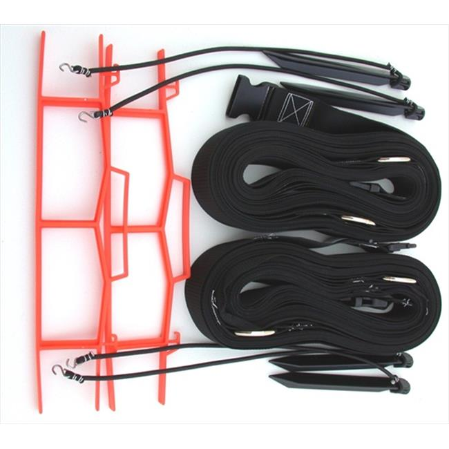 Home Court M819NABKS 8 Meter Black 2-inch Non-adjustable Web Courtlines