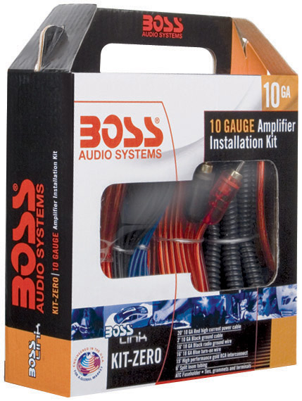 car stereo amp kit complete 10 gauge amplifier wiring audio amp kit rh walmart com JVC Car Stereo Wiring Diagram Car Stereo Speaker Wiring