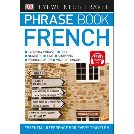 Eyewitness Travel Phrase Book French (Best French Phrases To Know)