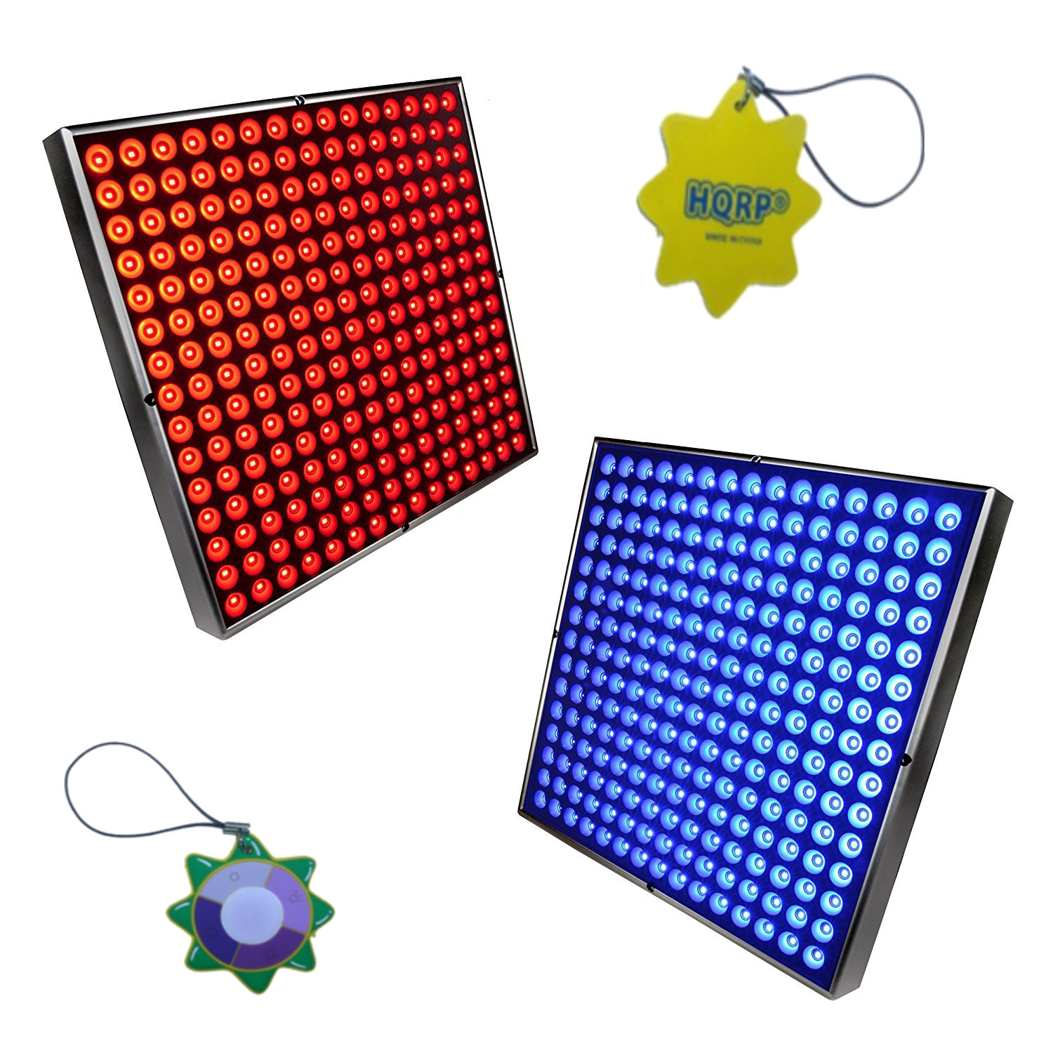 HQRP High-Power 90W 450 LED Blue + Red Grow Light Panels ...