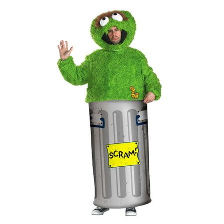 Oscar The Grouch Headband (Oscar the Grouch Sesame Street Teen Unisex Adult Costume DIS50070 - Teen (38-40, see)