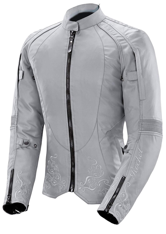 Joe Rocket Heartbreaker 3.0 Women's Textile Motorcycle Jacket (Black/Pink, Large)