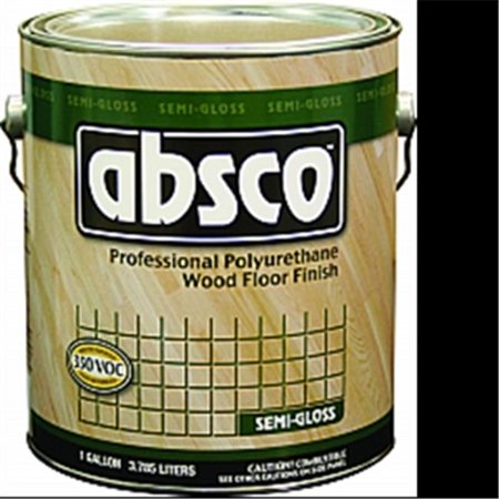 Absco 89521 Professional Polyurethane Wood Floor Finish, (Glossy Stain)