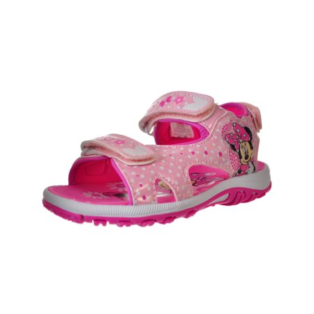 Disney Minnie Mouse Girls' Sandals (Sizes 6 - 12) (Disney Princess Sandals)
