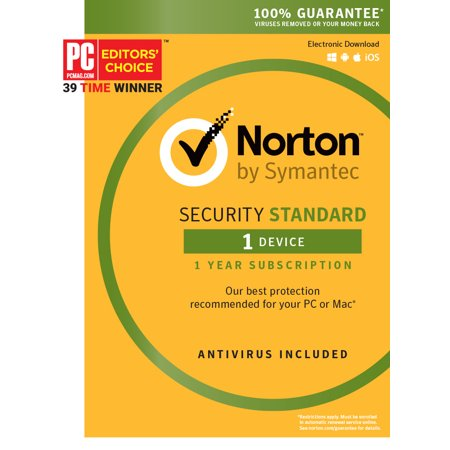Norton Security Standard - 1 Device (Best Lightweight Antivirus Android)