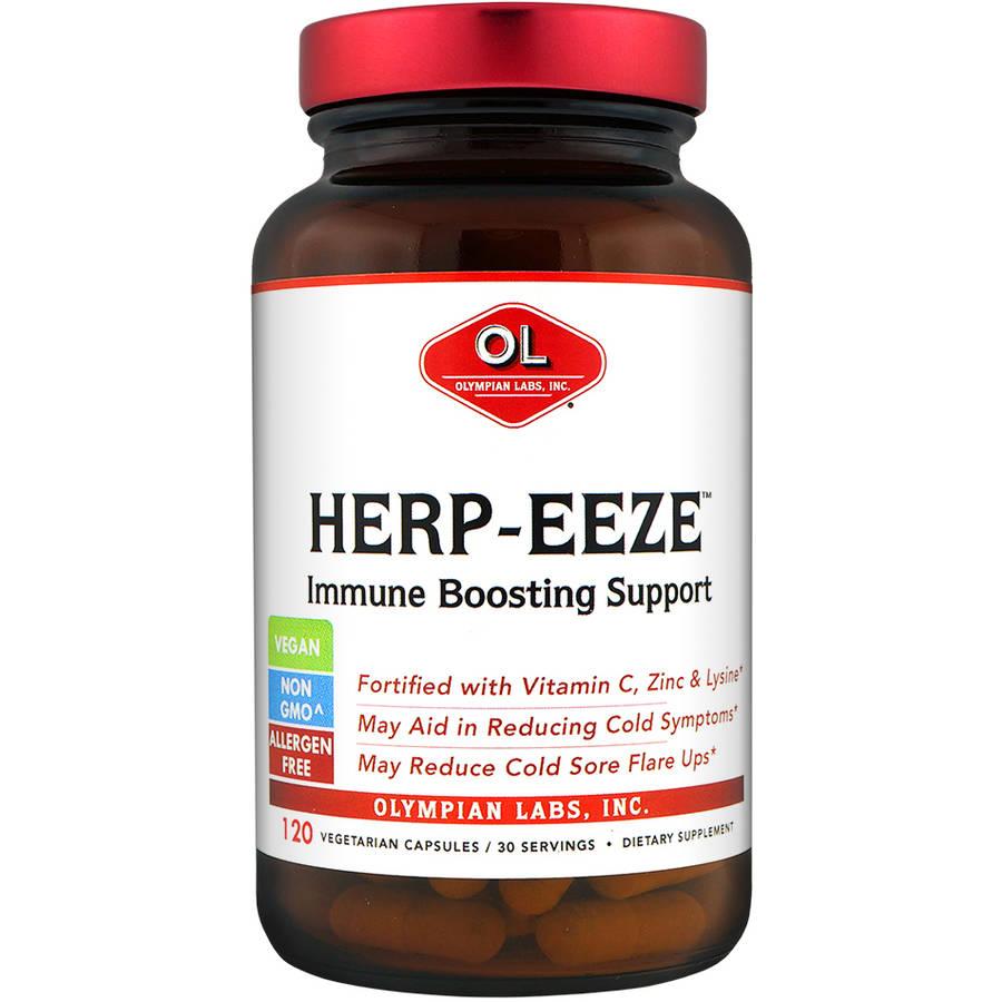 Olympian Labs Herp-Eeze Next Generation Vegetarian Capsules, 120ct