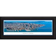 Blakeway Worldwide Panoramas, Inc US Skyline San Francisco, California by James Blakeway Framed Photographic Print