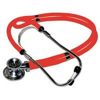 MEDSOURCE MS-STR Stethoscope, Red