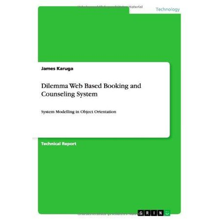 Dilemma Web Based Booking And Counseling System