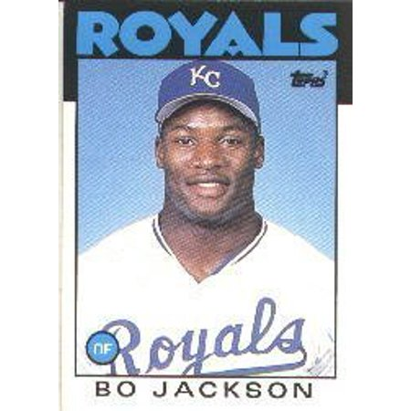 1986 Traded Bo Jackson Rookie Baseball Card #50T - Shipped In Protective Display Case!, By Topps Ship from US