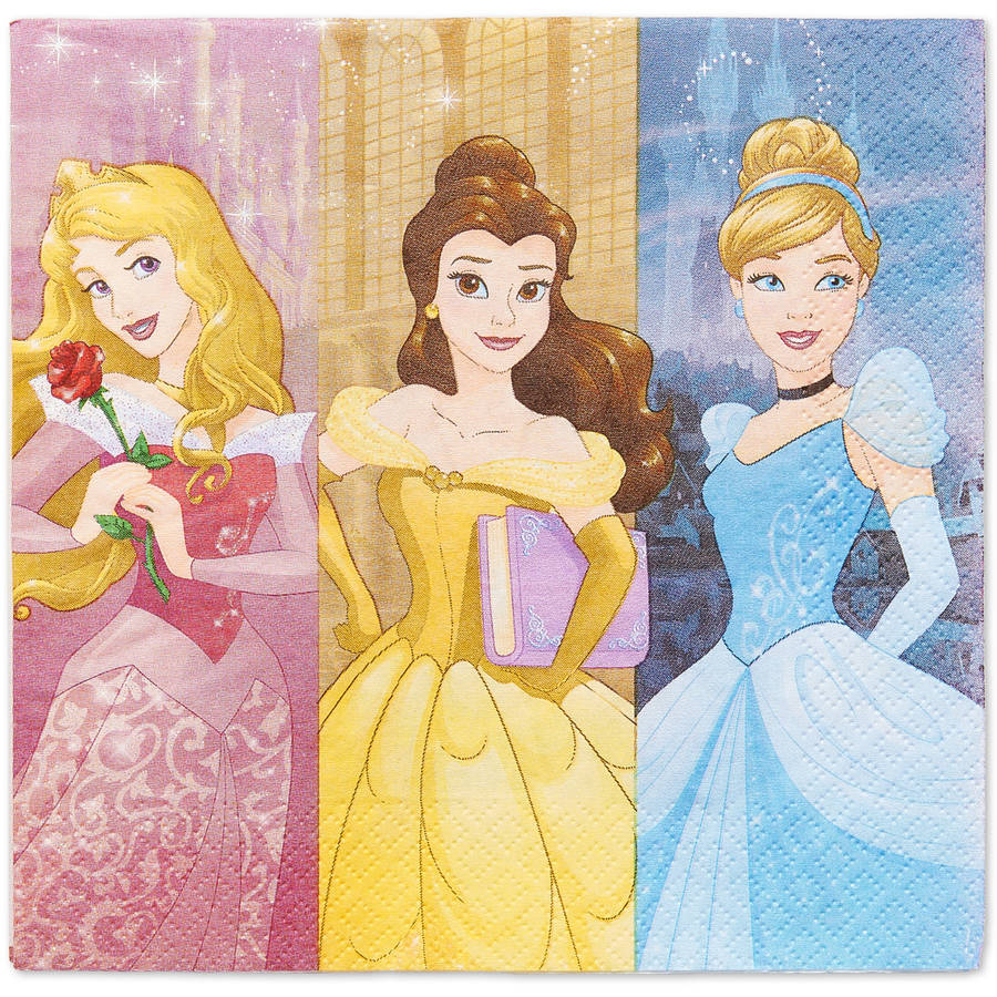 DesignWare Luncheon Napkins Princess Dream Big - 16 CT