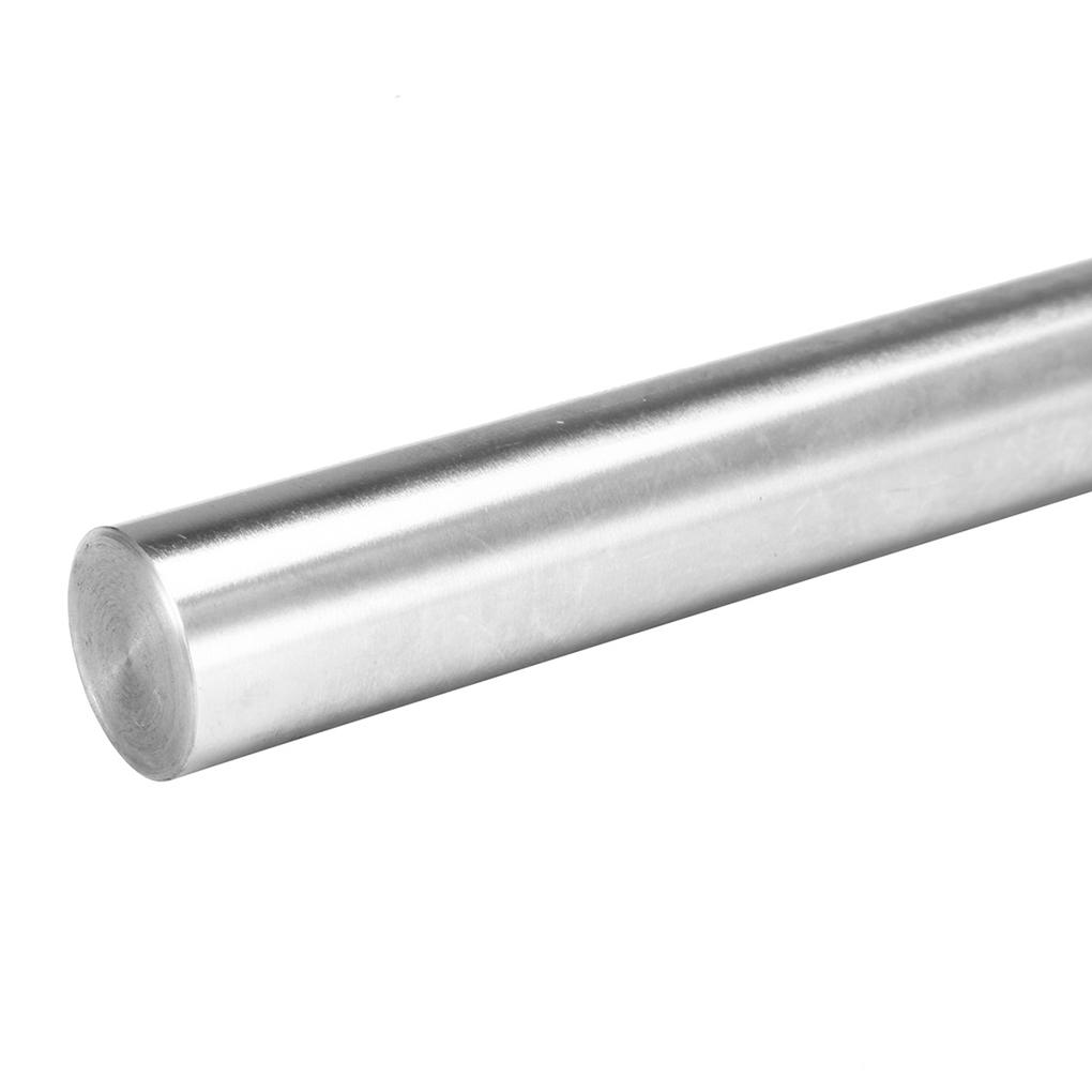 Length: 500mm, Diameter: 12mm Ochoos Linear Shaft 3D Printer Cylinder Liner Rail Linear Shaft Axis CNC Parts
