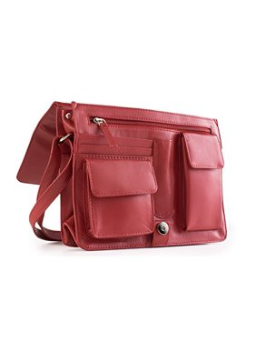 d1da4d5e2b Visconti 753 Womens Large Leather Flap-over Shoulder   Crossbody Bag    Messen.