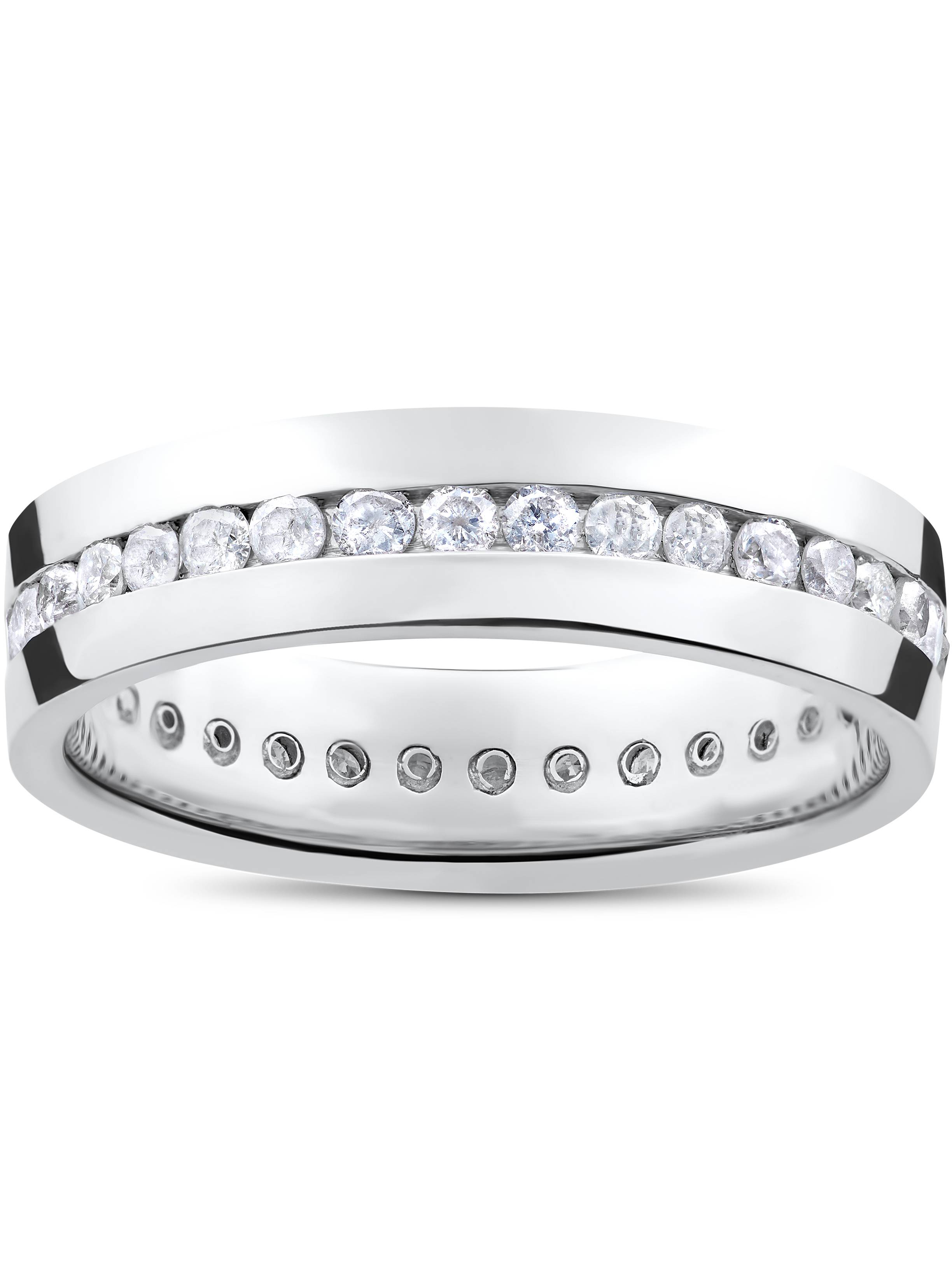 Mens White Gold Wedding Bands Walmartcom