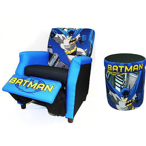 DC Comics Batman Recliner and Storage Ottoman Value Bundle | Shop Your Way Online Shopping u0026 Earn Points on Tools Appliances Electronics u0026 more  sc 1 st  Shop Your Way : batman recliner - islam-shia.org