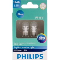 Philips Ultinon LED 194BLED, W2,1X9,5D, Plastic, Always Change In Pairs!