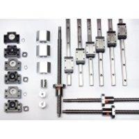 "2' x 2' Feet CNC Router Kit 16mm Rail Guideway System and Ball Screws XYZ Travel 24"" x 24"" x 10"" Inch"